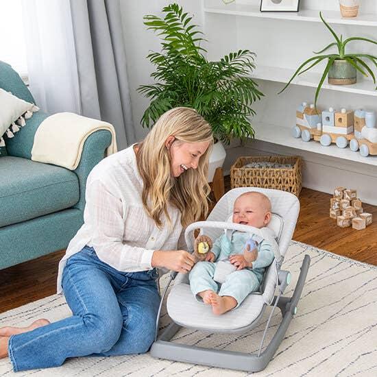 Baby-Schaukelstuhl + Wippe + Sitz
