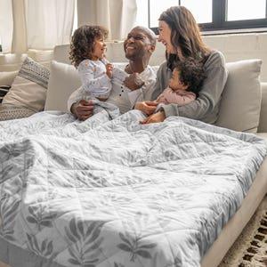 beschwerte Decke fürs Wohnzimmer