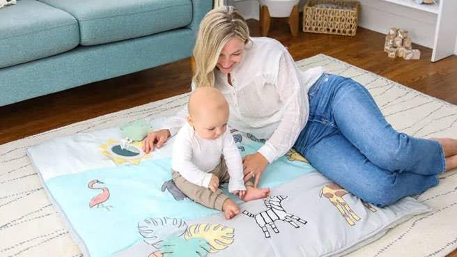aden + anais Baby-Bonding-Spielmatte